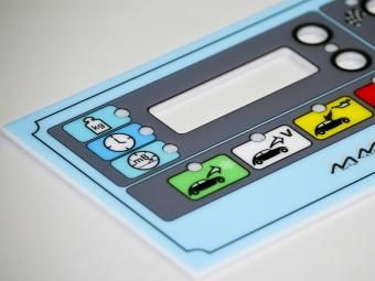 Ploča uređaja za punjenje klime