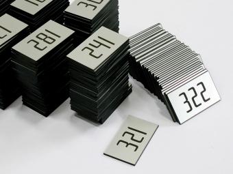 Pločice sa brojem