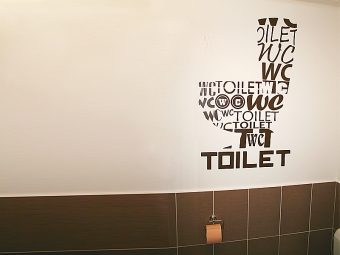 Oslikavanje toaleta