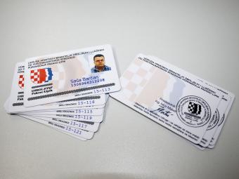 Plastične članske kartice