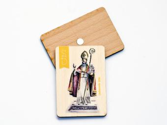 Drveni magnet sv. Vlaho