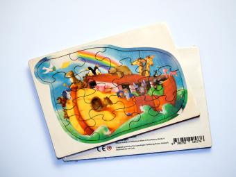 Drvene puzzle izrađene od šperploče